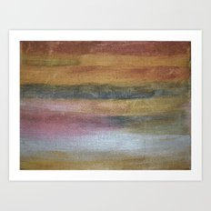Color plate - rusty Art Print