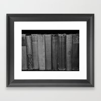 First Editions (wide Vie… Framed Art Print