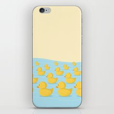 Rubber Duckie Army iPhone & iPod Skin