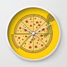 Pizza Vinyl Wall Clock