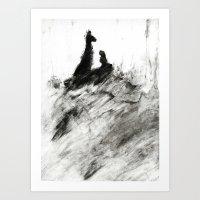 Dream view serie - Forest teaching Art Print