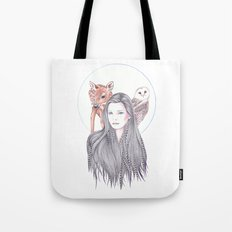 Forest Allies Tote Bag