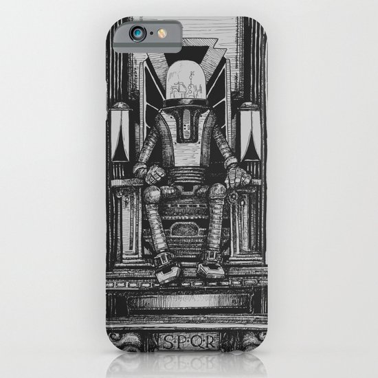 Pax Robota - B&W iPhone & iPod Case