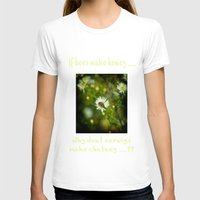 bee T-shirts featuring Bee  by Rob Hawkins Photography