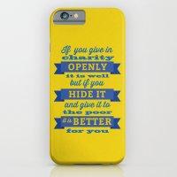 Charity iPhone 6 Slim Case