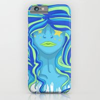 iPhone & iPod Case featuring Blue Days by selinabetts