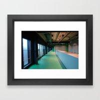 2007 - Human Built Emptiness Framed Art Print