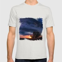 Dawn of Dreams Mens Fitted Tee Silver SMALL