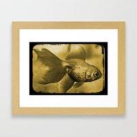 Goldfish Framed Art Print