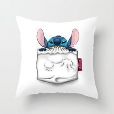 imPortable Stitch... Throw Pillow