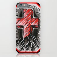 iPhone & iPod Case featuring cross of ages by sharktankillustrations