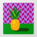 Fruit with Wallpaper (pineapple) Canvas Print
