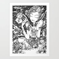 Tinkering Utopia Art Print