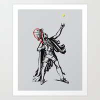 Chief of The Court Art Print