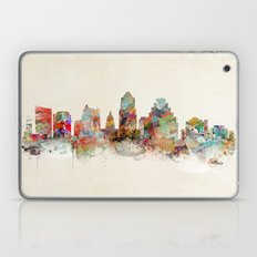 austin texas skyline Laptop & iPad Skin