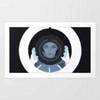 Siren / Tron: Legacy Art Print