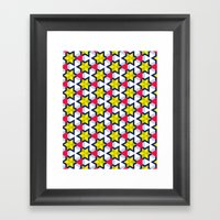 Krijgsman Pattern Framed Art Print