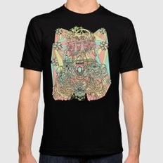 the functioning parts SMALL Mens Fitted Tee Black