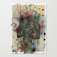 Boogie Man Canvas Print