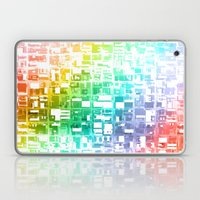 spectrum construct Laptop & iPad Skin