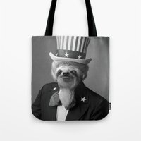 Life as an American Sloth Tote Bag