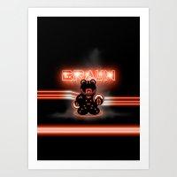 BRAUN - The Bearginning Art Print