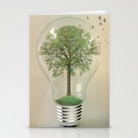 Green Ideas 02 Stationery Cards