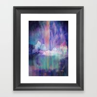 Northern Lights Adventure Framed Art Print