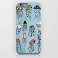 iPhone & iPod Case featuring dreaming of jellyfish by Asja Boros