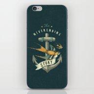 Anchor | Petrol Grey iPhone & iPod Skin