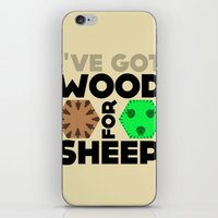 Wood For Sheep (Catan Se… iPhone & iPod Skin