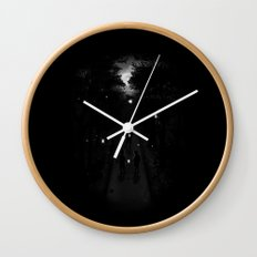 Fireflies Wall Clock