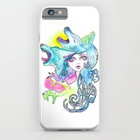 iPhone & iPod Case featuring Miss Canine by Monika Jean
