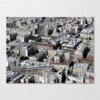 Paris Architecture From … Canvas Print