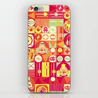 Electro Circus iPhone & iPod Skin