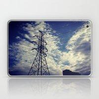 Heavenly spring sky in an industrial world Laptop & iPad Skin