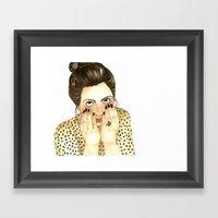 Fo Fo Leon Framed Art Print