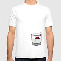 Hey, Careful, Man, There… Mens Fitted Tee White SMALL