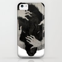 iPhone 5c Cases featuring Wild Dog by Corinne Reid