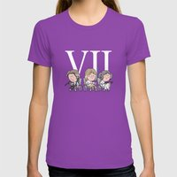 Oldies Womens Fitted Tee Ultraviolet SMALL