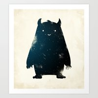 Mr. Cosmos (Color Versio… Art Print