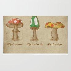 Mario Mycology Rug