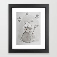 Do You Want To Build A S… Framed Art Print