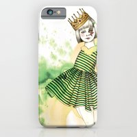 iPhone & iPod Case featuring Little Queen by Camis Gray
