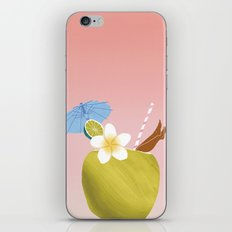 Lime In The Coconut iPhone & iPod Skin