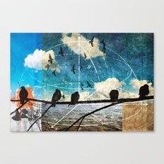 coordinates 2 Canvas Print
