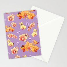 Orchids & Ladybirds Stationery Cards