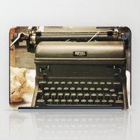 You never write... iPad Case