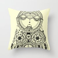 A Wise Old Owl Sat On An… Throw Pillow