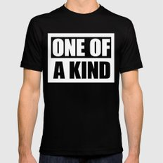 One of a Kind Black SMALL Mens Fitted Tee